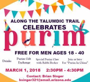 Along The Talmudic Trail Purim Celebration @ Southwest Torah Institute