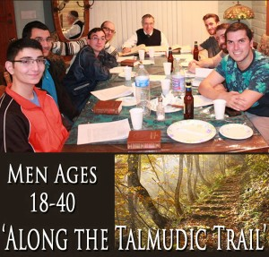 Along the Talmudic Trail 18-40 @ Home of Rabbi Israel Becker, Call for Address