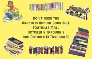 Brandeis Book Sale at Foothills Mall @ Foothills Mall | Tucson | Arizona | United States