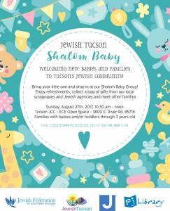Jewish Tucson Shalom Baby @ Tucson J | Tucson | Arizona | United States