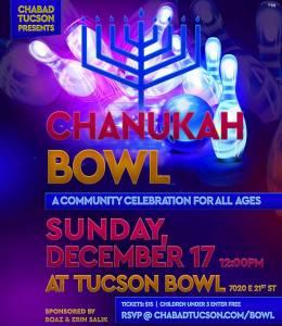Grand Chanukah Bowl @ Tucson Bowl | Tucson | Arizona | United States