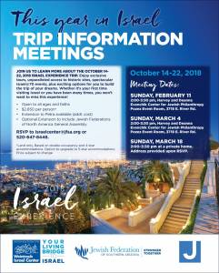 @ Israel 2018 Experience | Tucson | Arizona | United States
