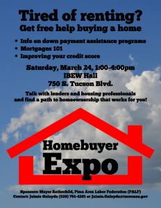 Homebuyer Expo @ IBEW Hall | Tucson | Arizona | United States