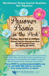 Passover Picnic in the Park @ Canada del Oro Riverfront Park  | Oro Valley | Arizona | United States