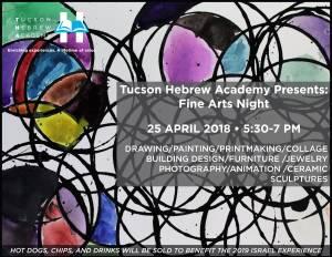 Fine Arts Night @ Tucson Hebrew Academy | Tucson | Arizona | United States