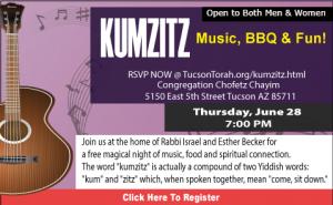 Kumzitz @ Congregation Chofetz Chayim | Tucson | Arizona | United States