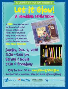 Let it Glow! A Hanukkah Celebration @ Barnes & Noble Book Store | Tucson | Arizona | United States