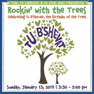 Rockin' with the Trees - Celebrating Tu B'Shevat, the Birthday of the Trees @ Tucson Hebrew Academy