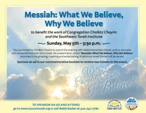 Messiah: What We Believe, Why We Believe @ Chofetz Chayim | Tucson | Arizona | United States