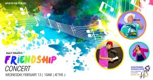 Taglit Friendship Concert @ Tucson J
