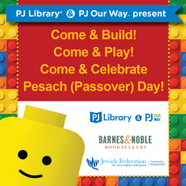 PJ Library & PJ Our Way Lego Event @ Barnes & Noble Book Store