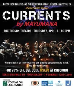 Currents by Mayumana @ Fox Theatre | Tucson | Arizona | United States