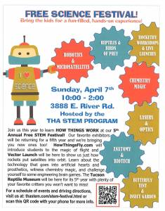 Free Science Festival! @ Tucson Hebrew Academy