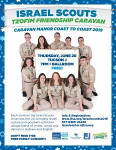 Tzofim Friendship Caravan in Tucson June 20, 2019 @ Tucson Jewish Community Center
