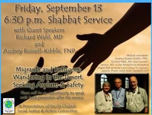 Shabbat Service @ Congregation Or Chadash