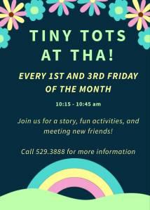 Tiny Tots At THA! @ Tucson Hebrew Academy