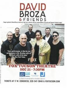 David Broza & Friends @ Fox Tucson Theatre